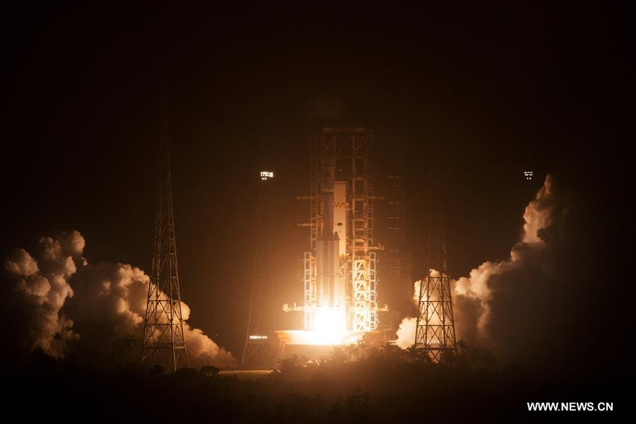 [XINHUAINSIGHT]CHINA-WENCHANG-TIANZHOU-1-LAUNCH (CN)
