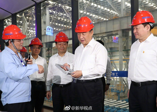 习近平广西考察:做强实体经济
