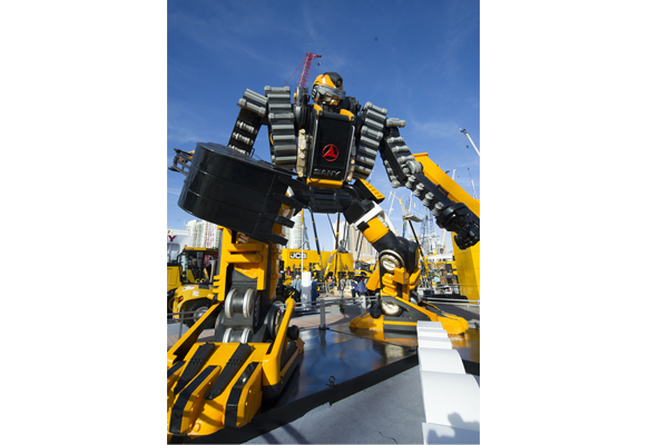 Construction machinery in huge demand