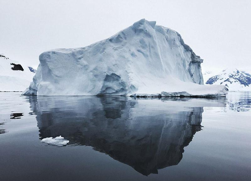 新西兰摄影师用手机拍南极美景【5】