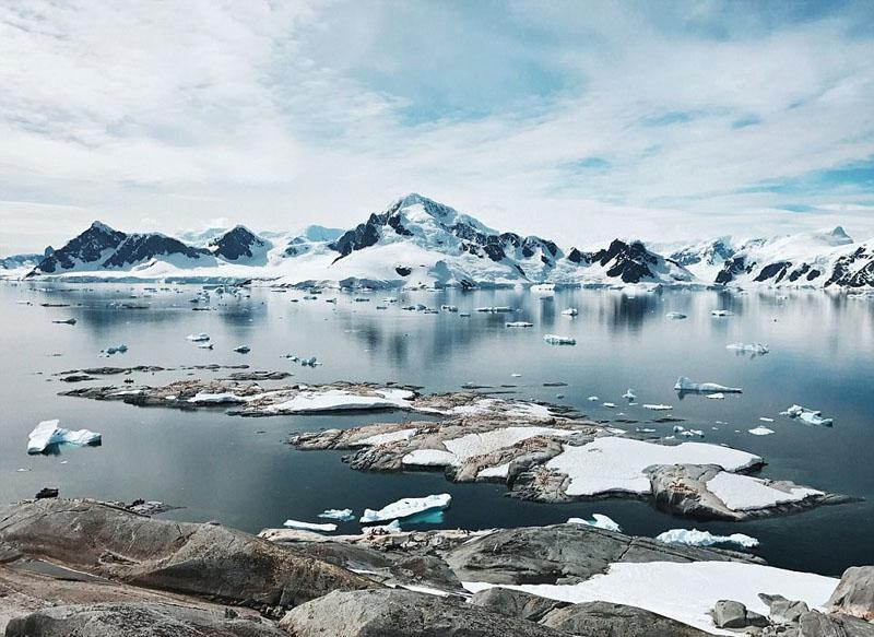 新西兰摄影师用手机拍南极美景【3】
