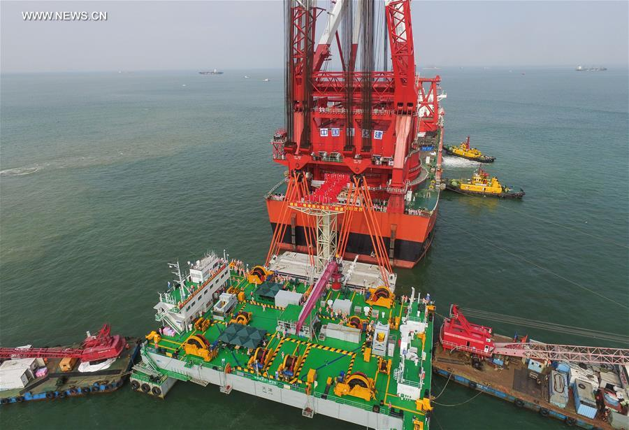CHINA-CROSS-SEA BRIDGE-CONSTRUCTION (CN)