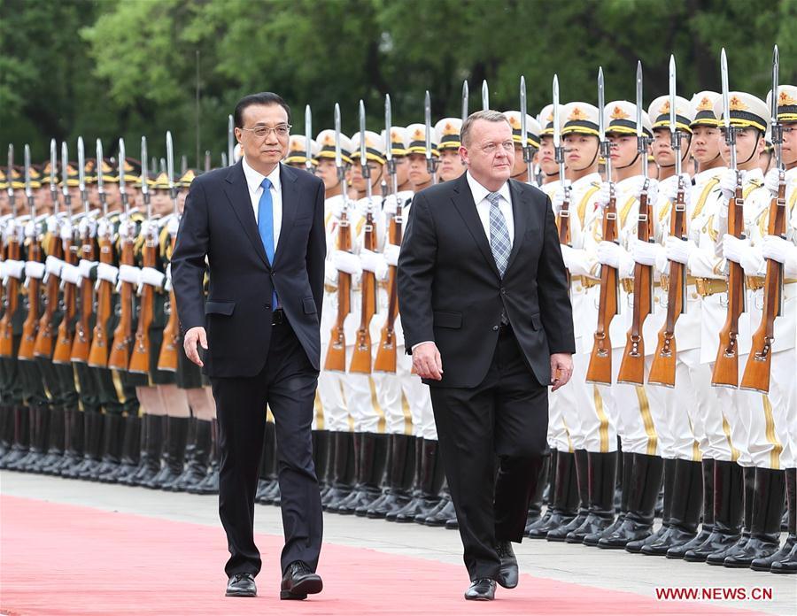 CHINA-BEIJING-LI KEQIANG-DANISH PM-TALKS (CN)