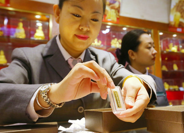 Chinese demand for gold bars and coins soars in first quarter