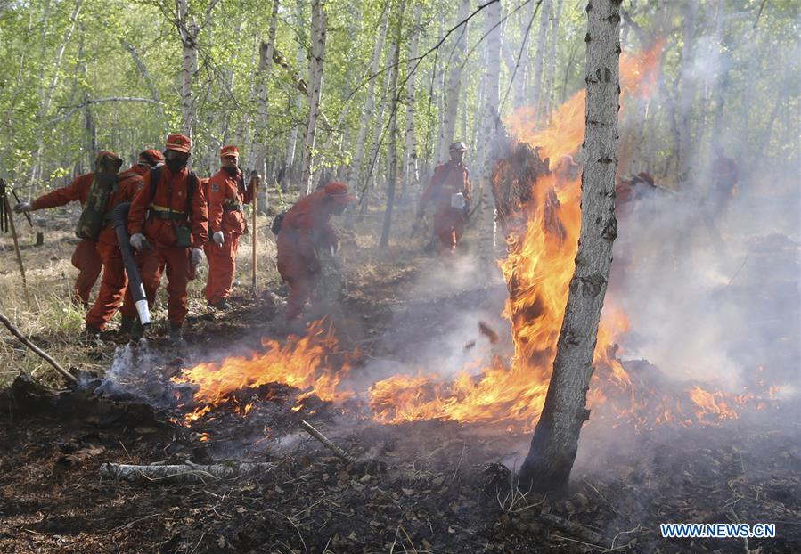 #CHINA-INNER MONGOLIA-FOREST FIRE (CN)