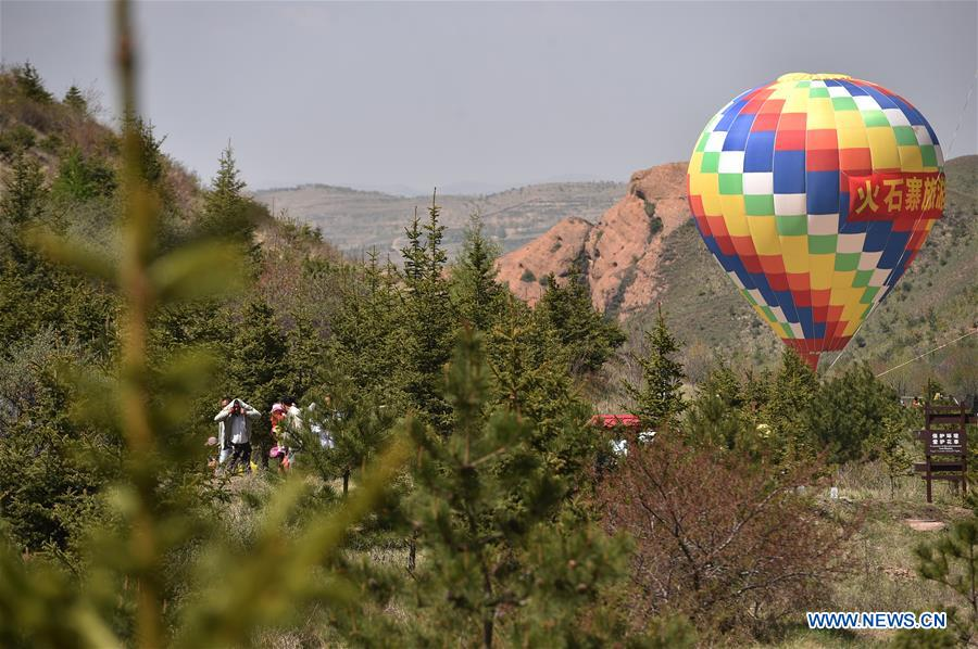 Huoshizhai National Geopark attracts tourists in NW China