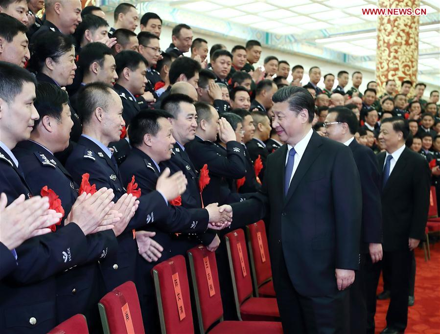 Xi calls for public security forces to be loyal to CPC