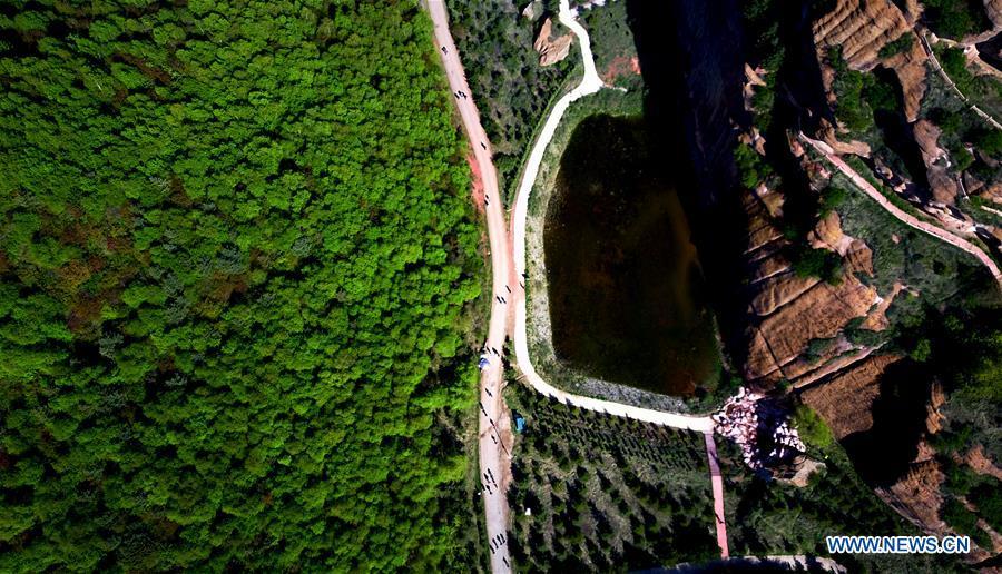 CHINA-NINGXIA-GUYUAN-DANXIA GEOPARK (CN)