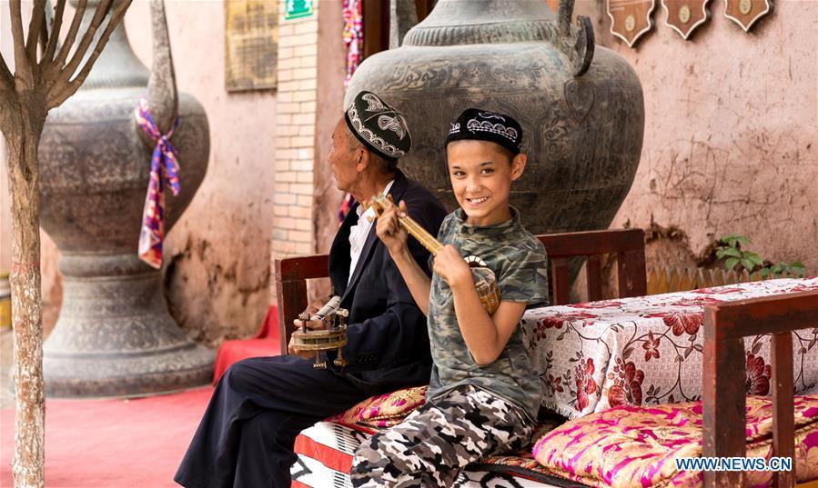CHINA-XINJIANG-KASHGAR-DAILY LIFE (CN)