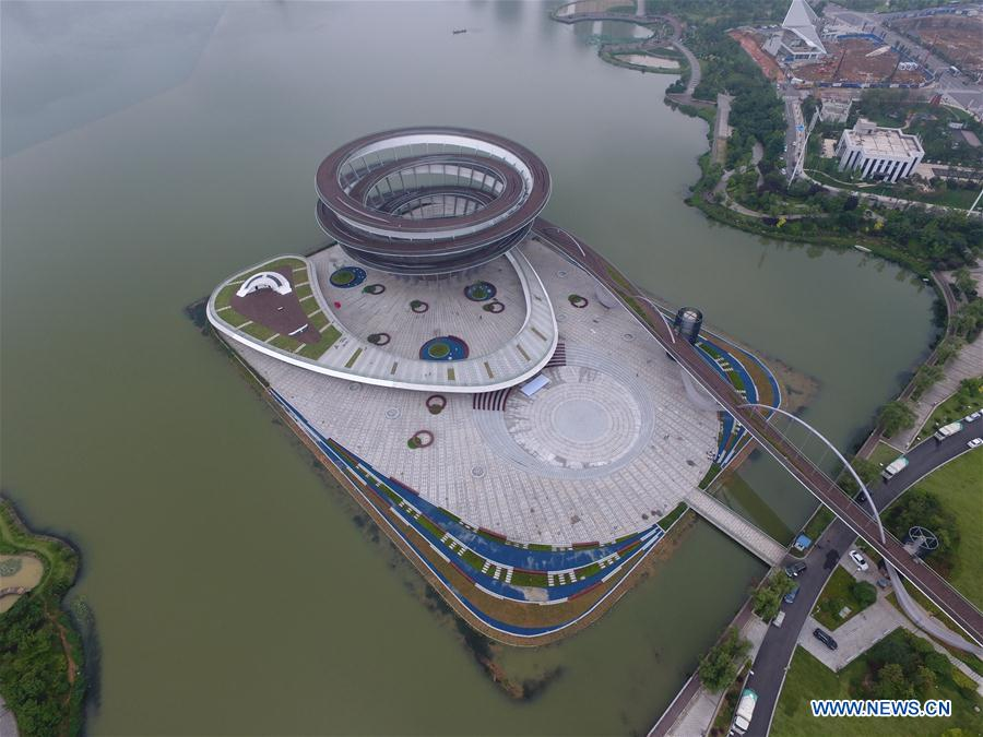 CHINA-CHANGSHA-SPIRAL SIGHTSEEING PLATFORM (CN)