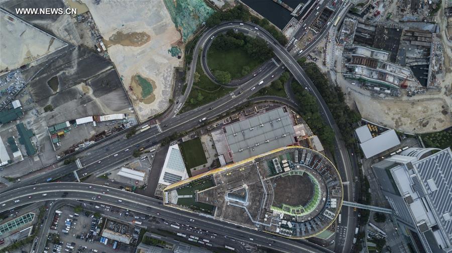 CHINA-HONG KONG-AERIAL VIEW (CN)