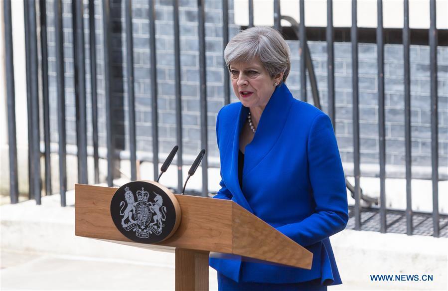 BRITAIN-LONDON-GENERAL ELECTION-THERESA MAY