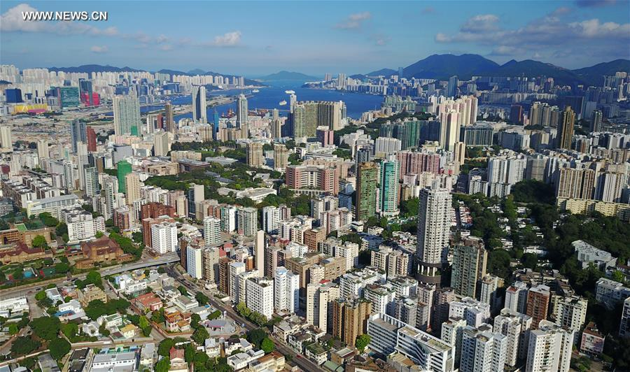 CHINA-HONG KONG-AERIAL VIEW (CN)