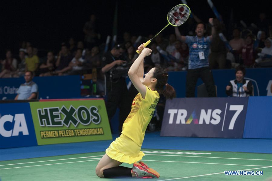 (SP)INDONESIA-JAKARTA-BADMINTON-INDONESIA OPEN 2017