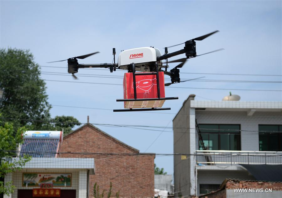 CHINA-SHAANXI-XI'AN-DRONE DELIVERY (CN)