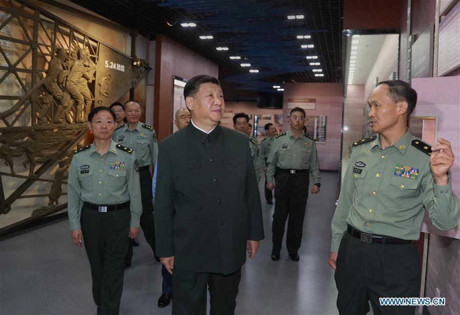 CHINA-SHANXI-XI JINPING-PLA-INSPECTION(CN)