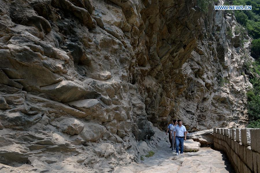 CHINA-SHAANXI-SHAOHUA MOUNTAIN-SCENERY (CN)