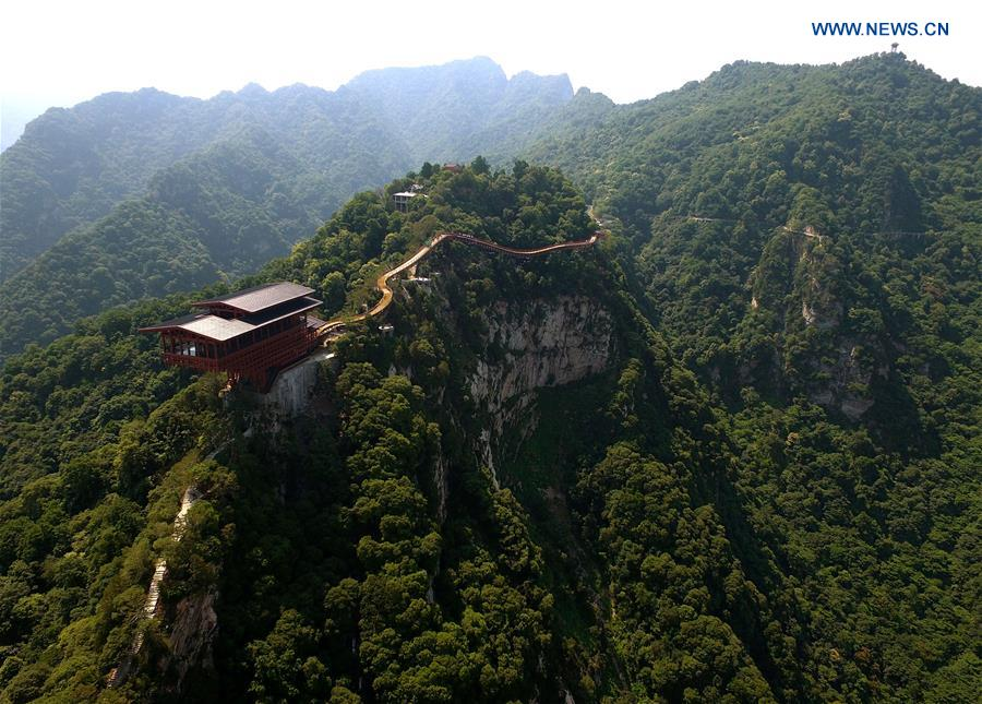 CHINA-SHAANXI-SHAOHUA MOUNTAIN-SCENERY (CN)