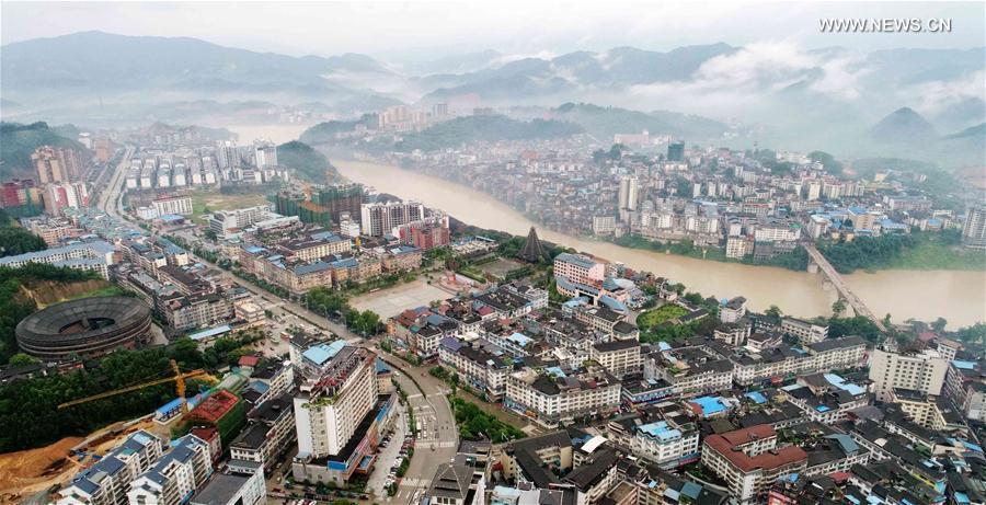CHINA-GUANGXI-FOG-SCENERY (CN)