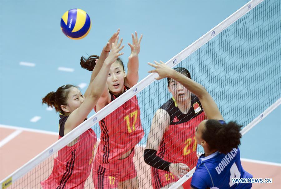 (SP)CHINA-KUNSHAN-VOLLEYBALL-WORLD GRAND PRIX