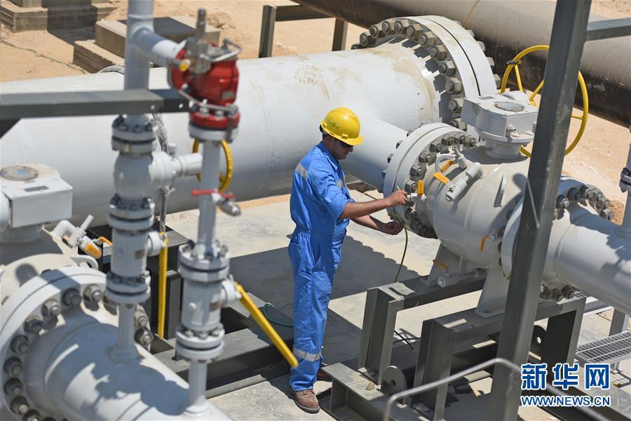 中国天然气调压站助力埃及最大发电站