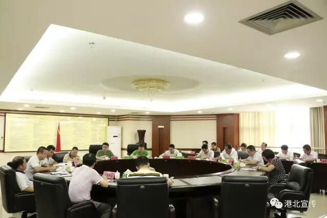 韦庆强组织召开全区政法工作会议