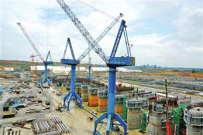 大藤峡工程建设上半年完成投资24.71亿元