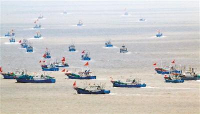 首批渔船解禁开捕