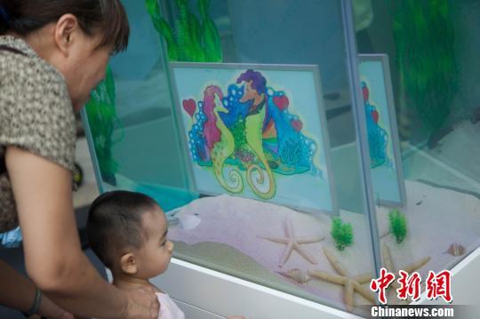深圳首次举办水下科普插画展