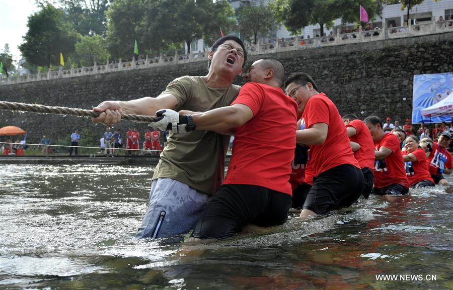 #CHINA-HUBEI-XUAN'EN-TUG OF WAR (CN)