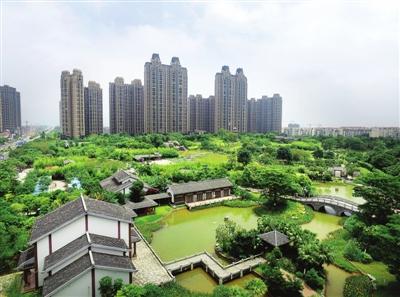 贵港市不断加大城市公园建设资金投入