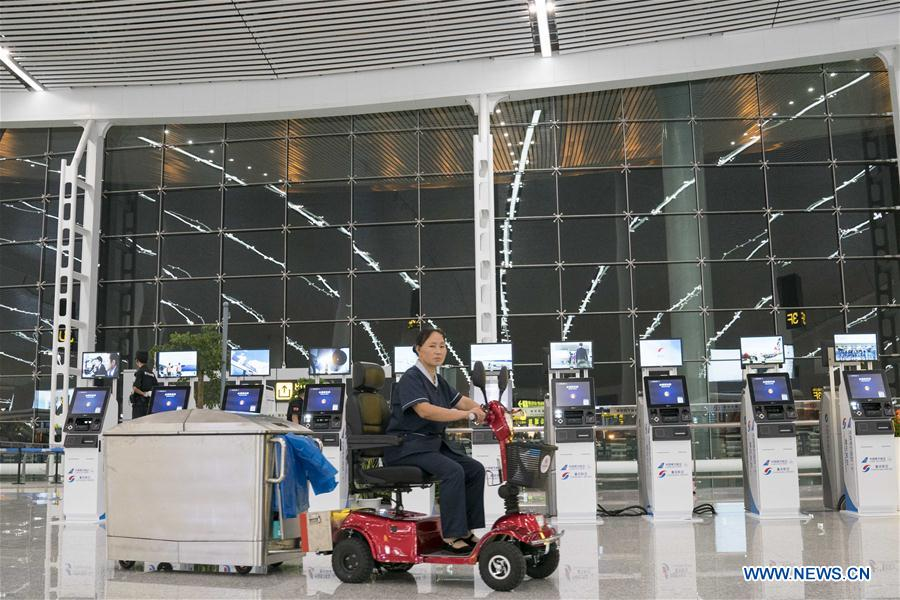 CHINA-CHONGQING-AIRPORT-TERMINAL (CN)
