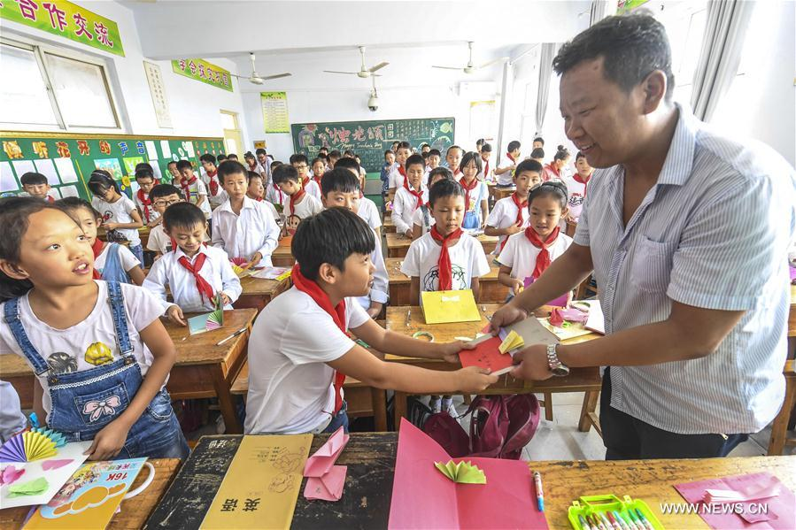 CHINA-HEBEI-TEACHERS' DAY(CN)