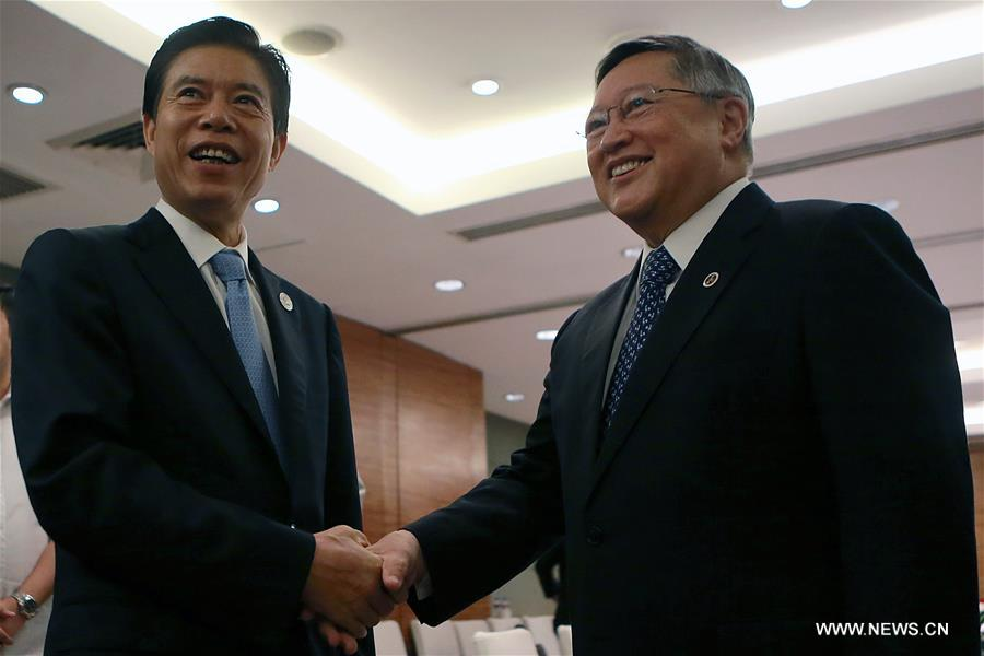 PHILIPPINES-PASAY CITY-ASEAN-CHINESE COMMERCE MINISTER