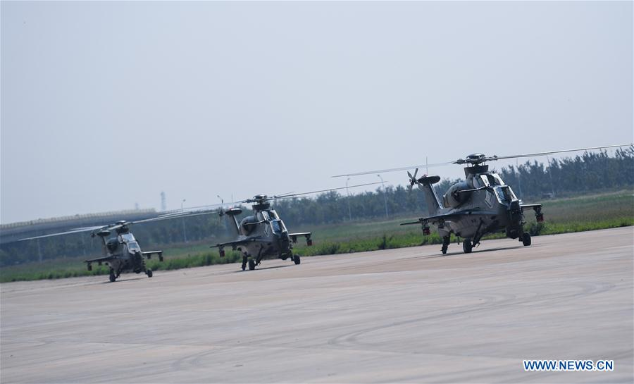 CHINA-TIANJIN-HELICOPTER EXPO-FENGLEI-ARRIVAL (CN)