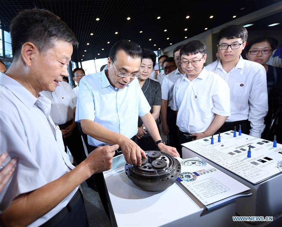 CHINA-TIANJIN-LI KEQIANG-INSPECTION (CN)