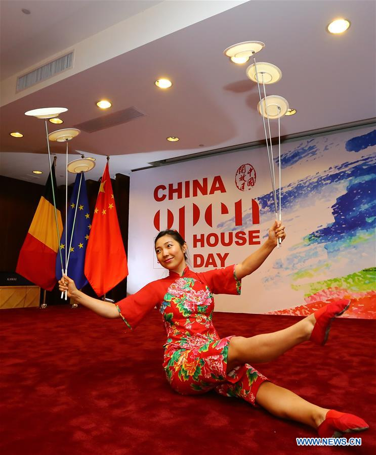 BELGIUM-BRUSSELS-EU-CHINESE-OPEN HOUSE DAY