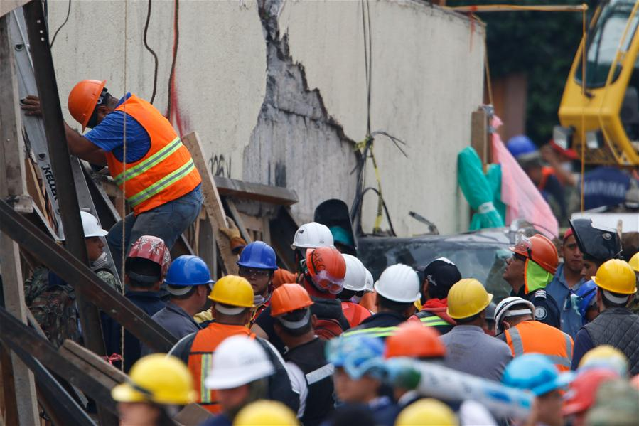 MEXICO-MEXICO CITY-EARTHQUAKE-DEATH TOLL