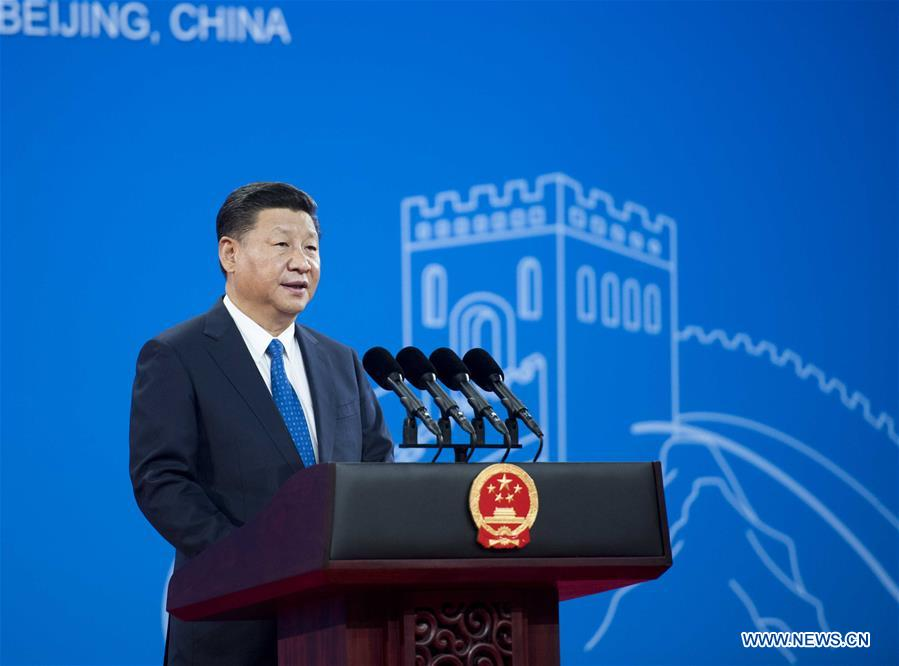 CHINA-BEIJING-XI JINPING-INTERPOL GENERAL ASSEMBLY (CN)