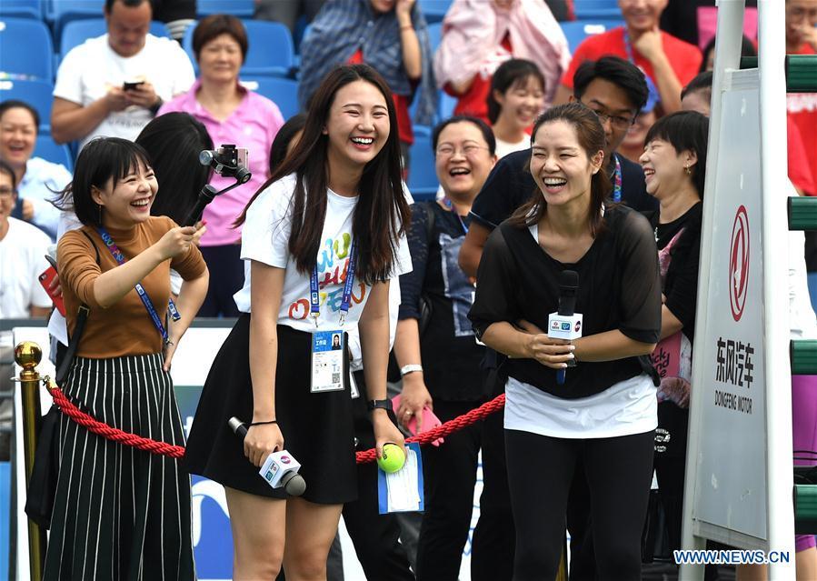 (SP)CHINA-WUHAN-TENNIS-WTA-WUHAN OPEN-LI NA(CN)
