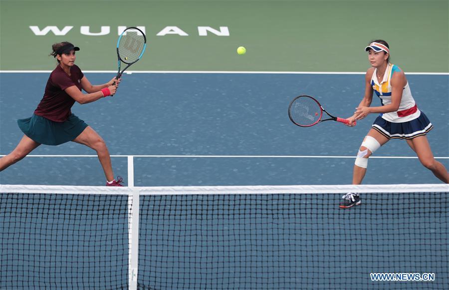 (SP)CHINA-WUHAN-TENNIS-WTA-WUHAN OPEN-DAY 7(CN)