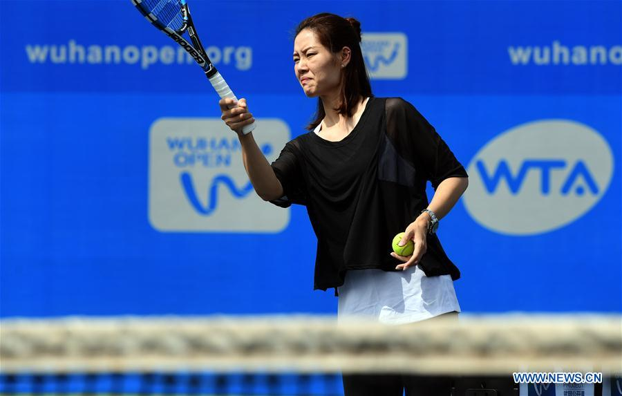 (SP)CHINA-WUHAN-TENNIS-WTA-WUHAN OPEN-LI NA(CN)