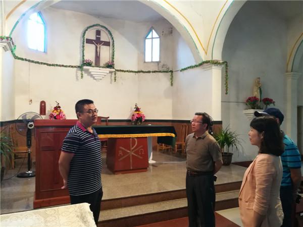 卢献匾赴钦州防城港两市调研宗教工作