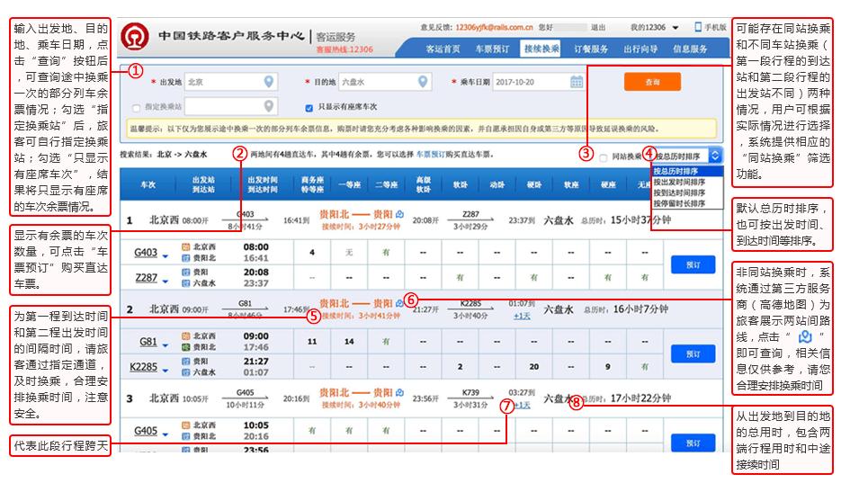 C、D、G字头动车今起可网上选座仅提供相邻座关系选择