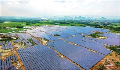 八塘岑西60MWp农业大棚光伏发电项目完成建设