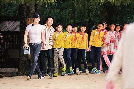 《讓世界聽見》開拍,汪峰蔡國慶當支教老師