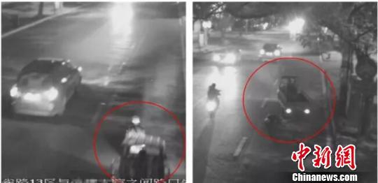广西七旬老人被两车先后撞击身亡两肇事人逃逸被抓