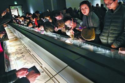 聚了唐伯虎等明清画家作品在内的特展,再次引爆参观热潮