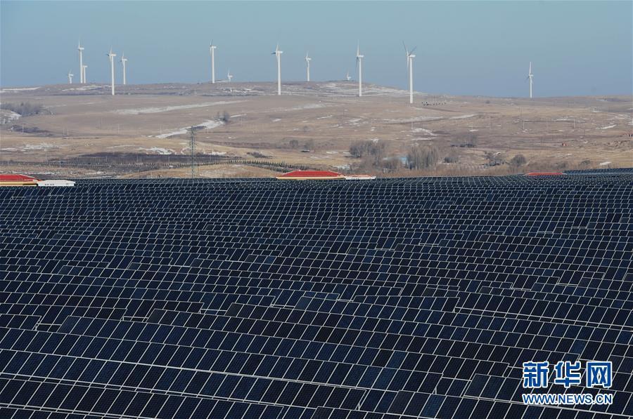 (经济)(1)具备虚拟同步机功能的新能源电站在河北张家口建成投运
