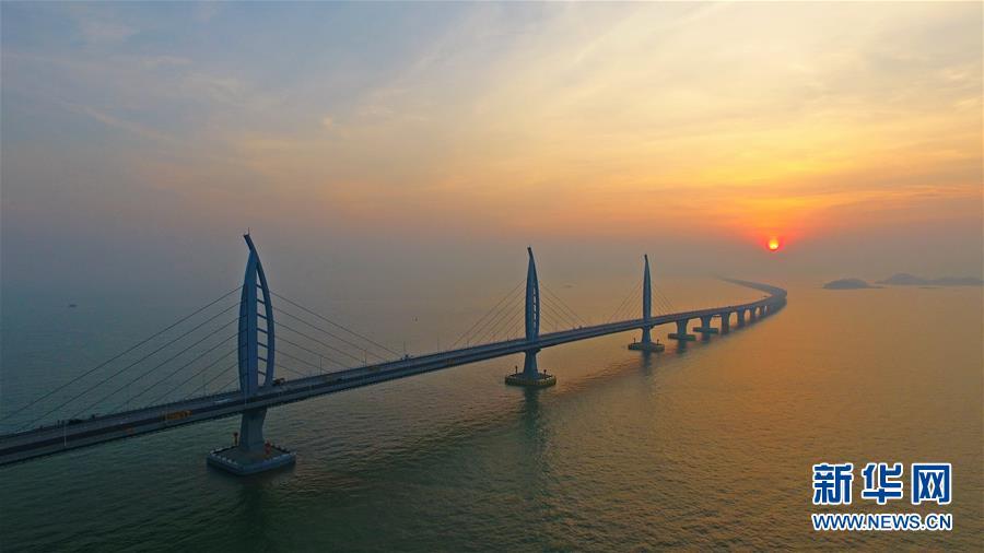(新时代新气象新作为)(7)港珠澳大桥主体工程如期具备通车条件